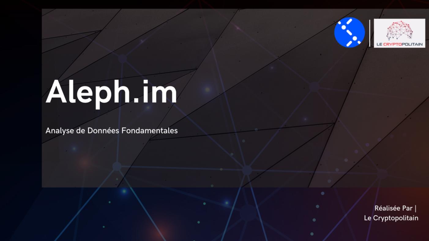 Projet Crypto-monnaie Aleph.im
